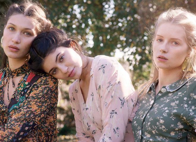 Сестры супермоделей в американском Vogue