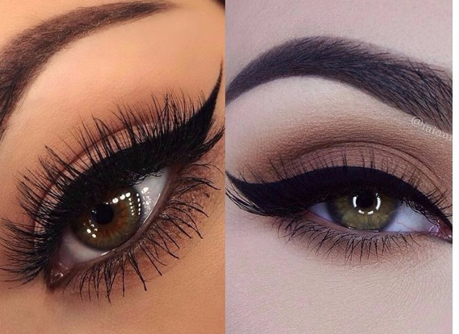 Стрілки по формі очей