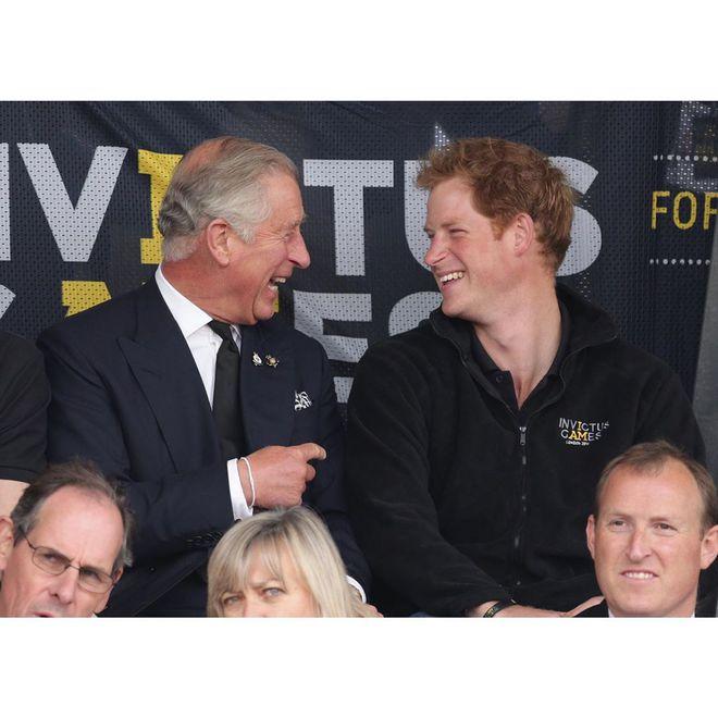 Принц Чарльз і принц Гаррі