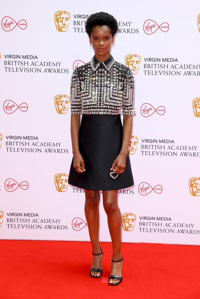 Летиція Райт на BAFTA TV Awards 2021
