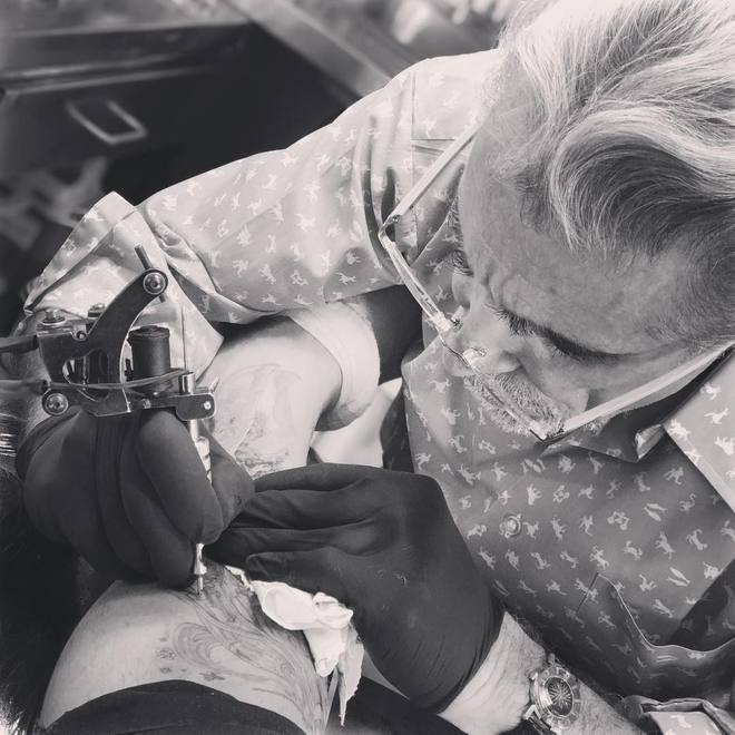 Девід Бекхем (instagram)