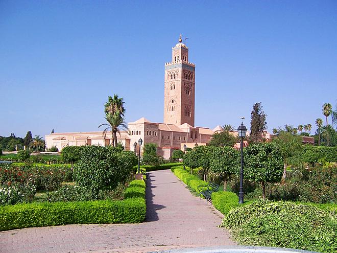 Достопримечательности Марракеша: Мечеть Кутубия