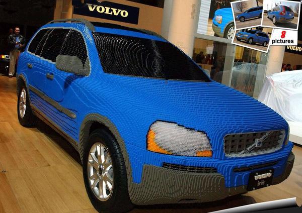 Volvo из lego