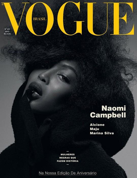 """Наомі Кемпбелл знялась для обкладинки бразильського """"Vogue"""""""