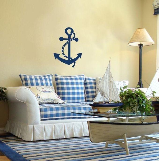 Морской стиль в интерьере
