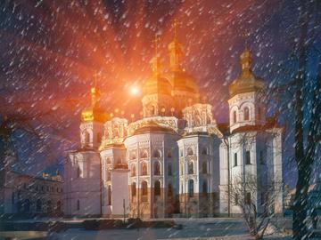Зима в городе: 13 мест, где покататься на санках в Киеве