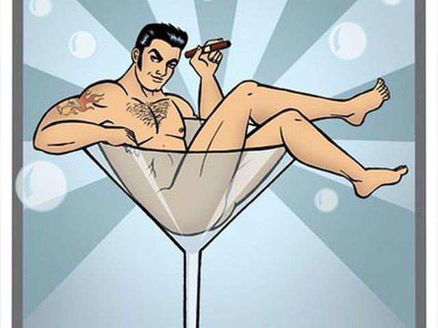 Открытки с днем рождения с голым мужчиной