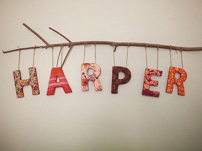 Буквы для имени ребенка