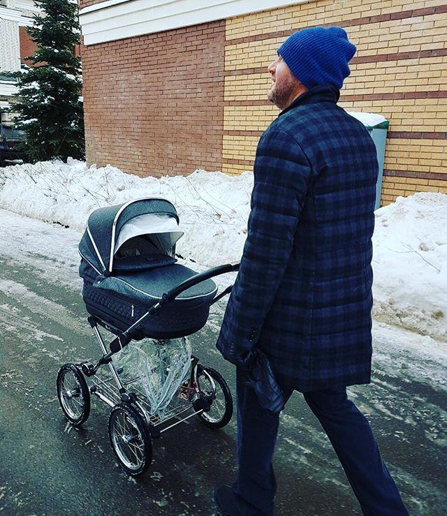 Максим Виторган с сыном