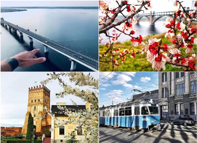 Куди поїхати на травневі в Україні