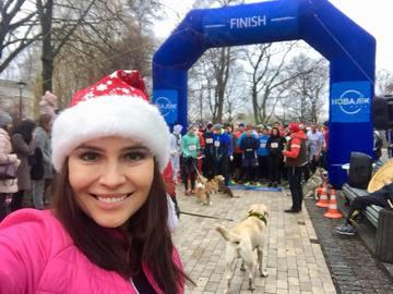 Анастасія Даугулє розпочала 2018 рік із забігу
