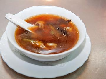 Китайский суп с морепродуктами