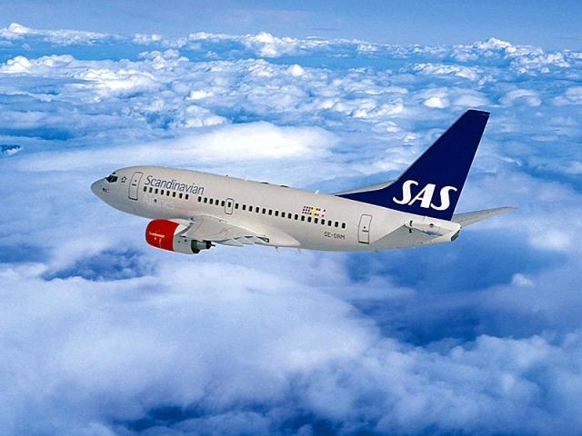Пунктуальные авиакомпании мира: SAS Скандинавские Авиалинии