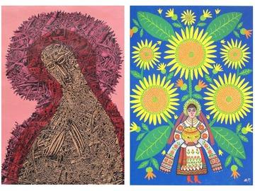 Картини Івана Марчука та Марії Примаченко