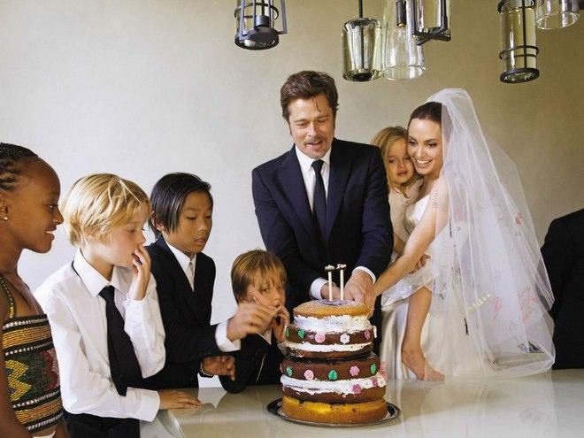 Доля дітей Анджеліни Джолі і Бреда Пітта після розлучення