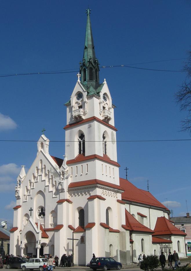 Самые известные католические храмы Украины