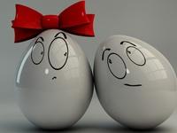 Влюбленные яйца