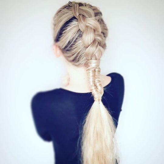15 идей для прически с косой на длинные волосы