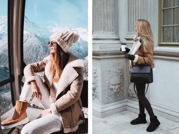 Як і з чим носити уггі взимку