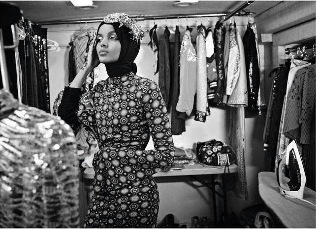 Халима Аден для Vogue Arabia