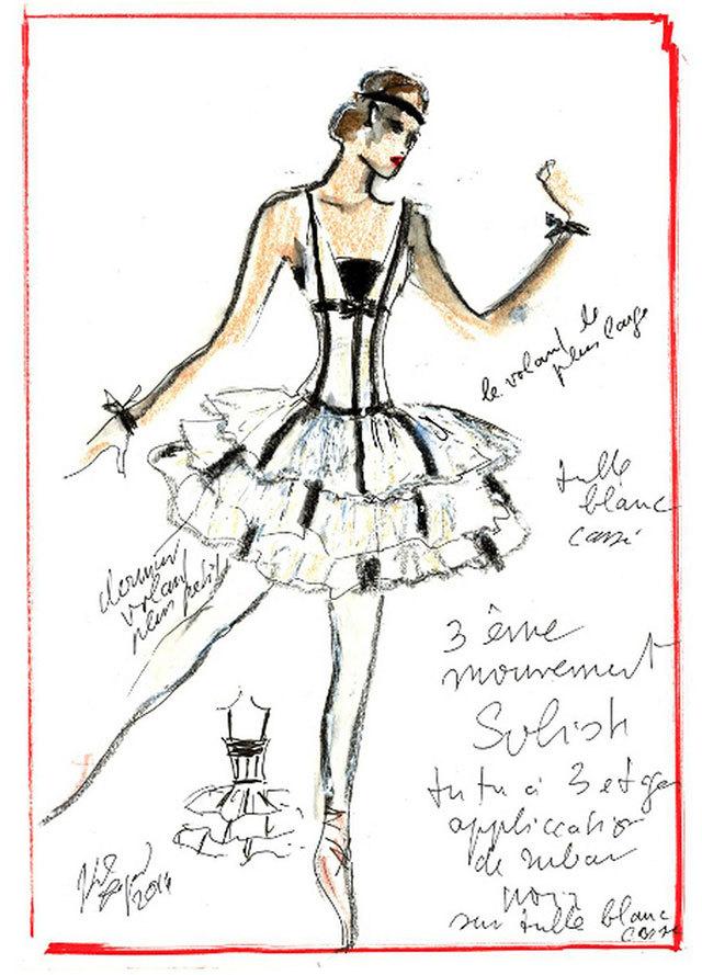 Ескізи костюма для балету Brahms-Schönberg Quartet