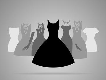5 черных платьев, которые изменили историю