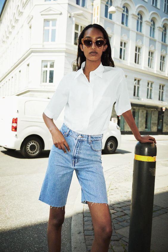 Модні джинсові шорти