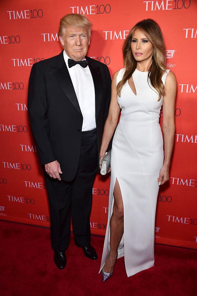 Меланія Трамп в одній сукні двічі