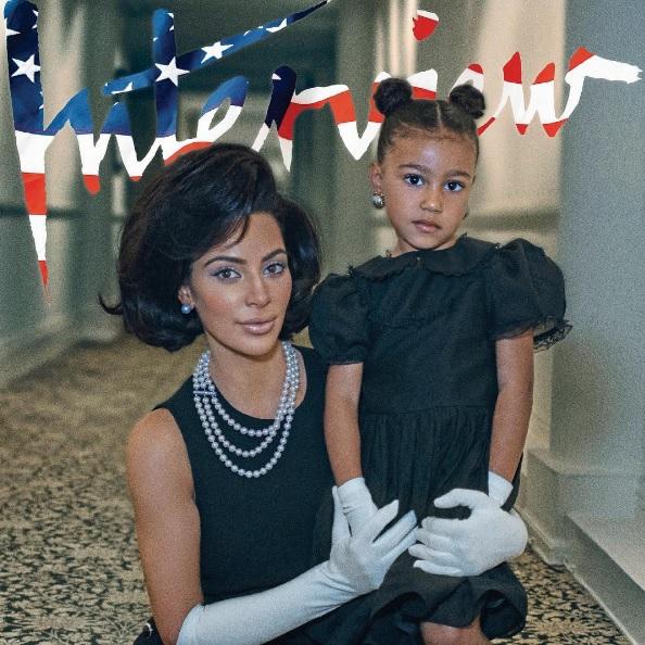 Кім Кардашьян в образі Жаклін Кеннеді