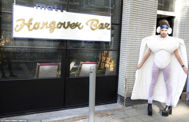 Первый в мире антипохмельный бар открылся в Амстердаме