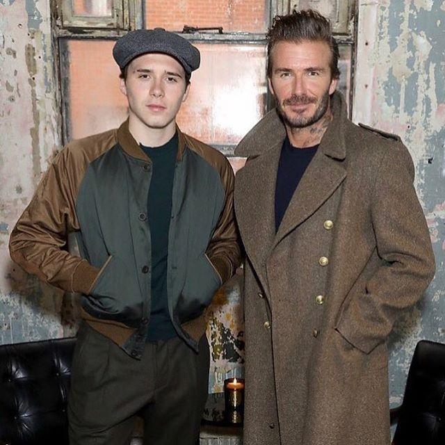 Девід Бекхем представив колекцію одягу в Лондоні