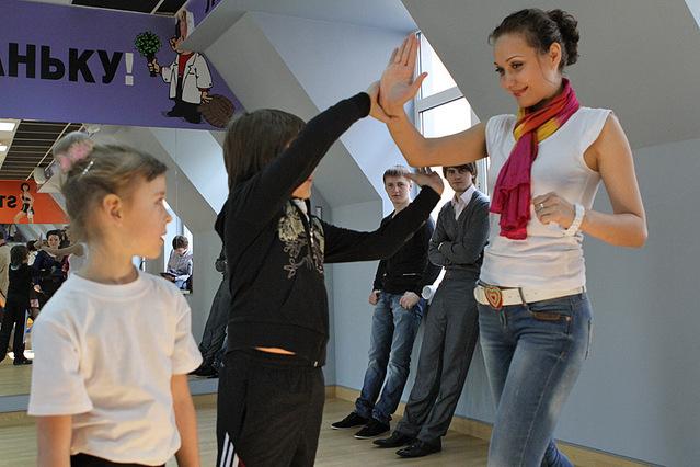 Спортивный мастер-класс звезд с детьми