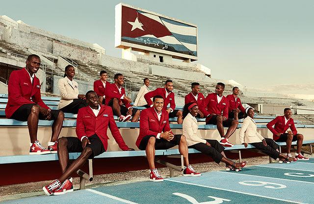 Крістіан Лубутен створив форму для олімпійської збірної Куби
