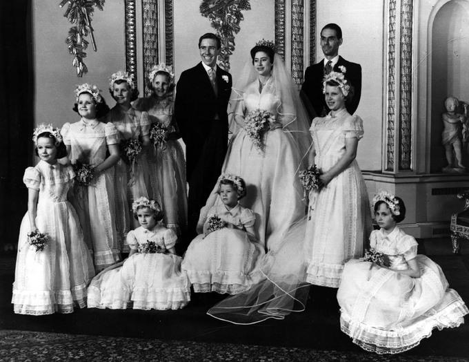 Свадьба принцессы Маргарет и Энтони Армстронг-Джонса