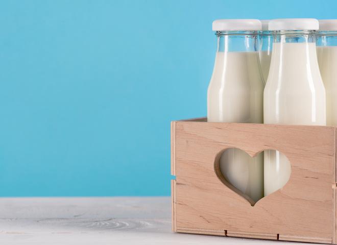 Безлактозне молоко