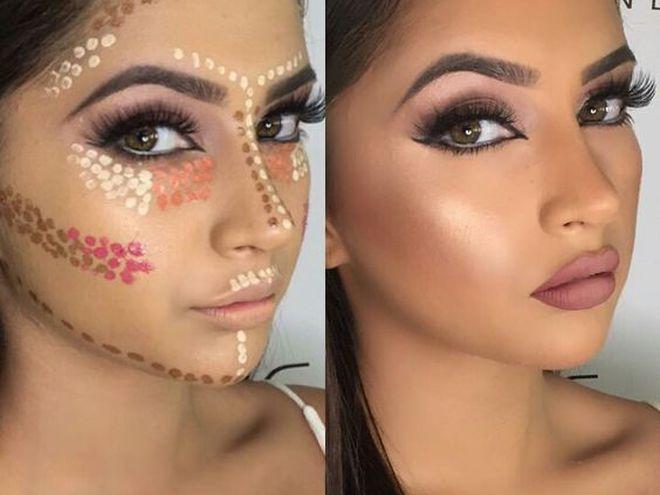 Как правильно наносить макияж от а до я: фото, видео 9