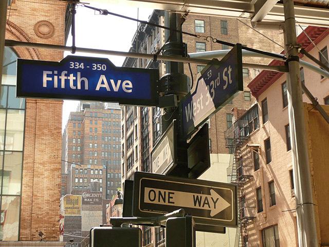 5 кращих шопінг-авеню: Fifth Ave, Нью-Йорк