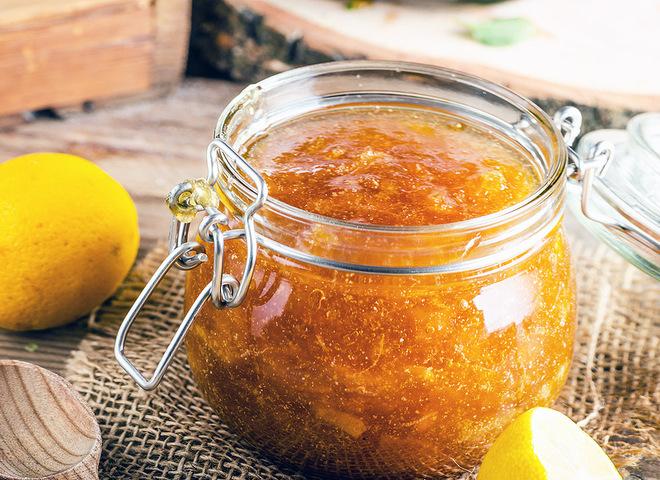 Морквяне варення з лимоном