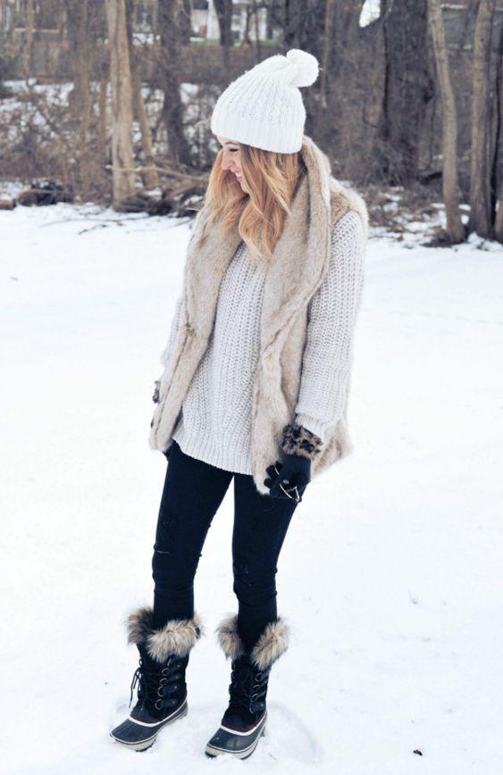 Як одягнутися в снігопад