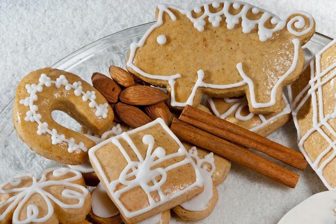 Імбирне печиво на Новий рік Свині 2019