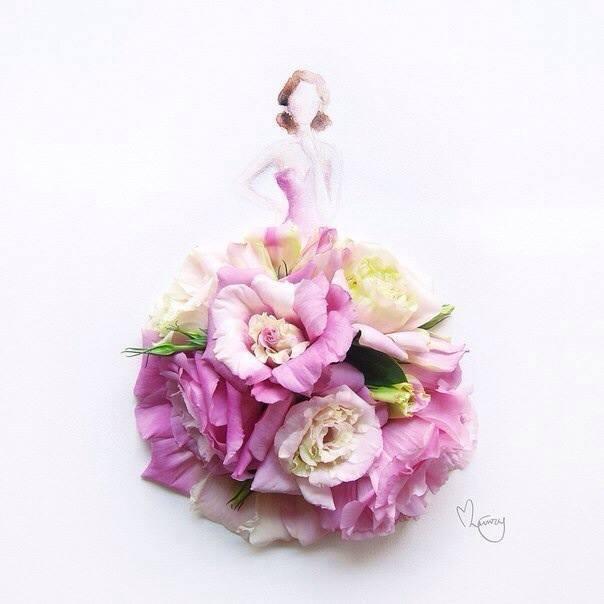 Цветочное искусство от Limzy