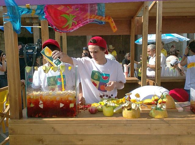 Фестивалі Грузії: Фестиваль фруктів в місті Мцхета