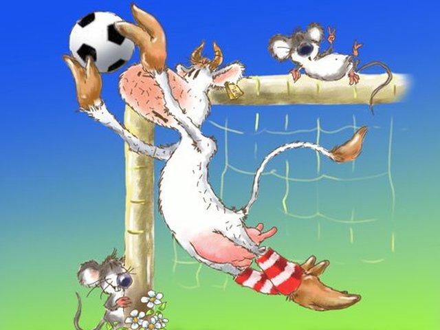 Прикольные открытки для футболиста