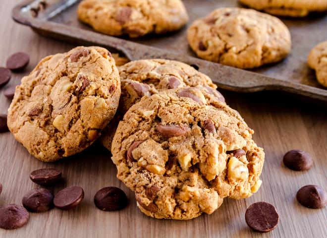 Печенье с шоколадом: американский рецепт