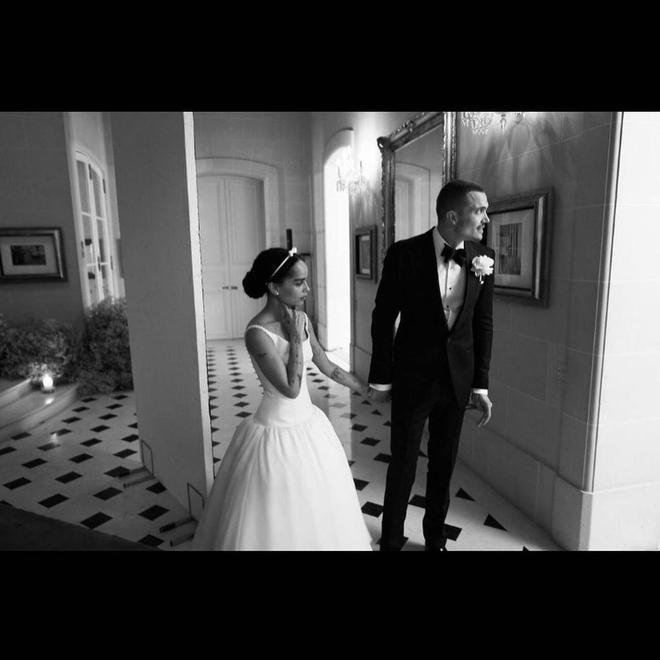 Свадьба Зои Кравиц и Карла Глусмана