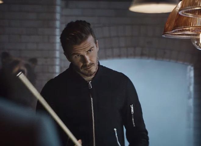 Девід Бекхем в рекламі H&M Modern Essentials