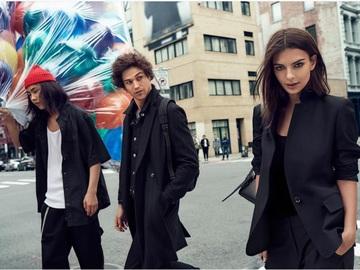 Эмили Ратаковски для DKNY