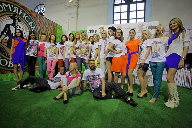 Звезды на Evro Fashion