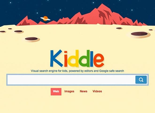 Браузер для дітей Kiddle