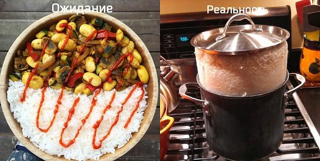 Готовим вкусняшки по рецепту. Ожидание и реальность